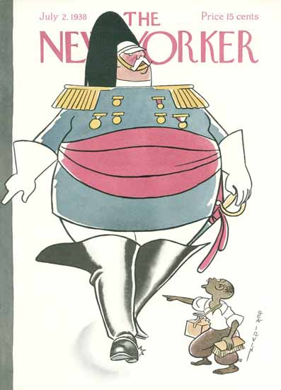 Rea Irvin The New Yorker 1938_07_02 Copyright | The New Yorker Graphic Art Covers 1925-1945