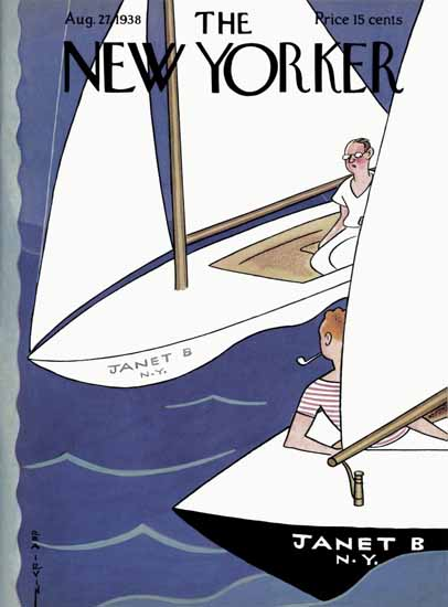 Rea Irvin The New Yorker 1938_08_27 Copyright | The New Yorker Graphic Art Covers 1925-1945