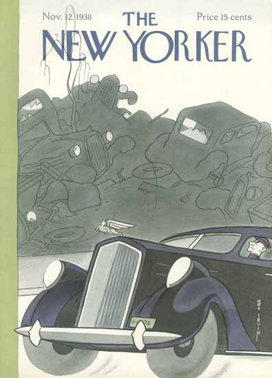 Rea Irvin The New Yorker 1938_11_12 Copyright | The New Yorker Graphic Art Covers 1925-1945