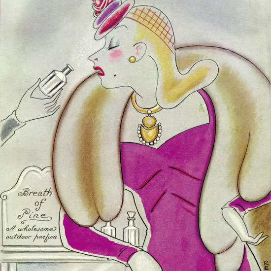 Rea Irvin The New Yorker 1939_05_27 Copyright crop | Best of Vintage Cover Art 1900-1970