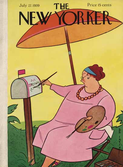 Rea Irvin The New Yorker 1939_07_22 Copyright   The New Yorker Graphic Art Covers 1925-1945