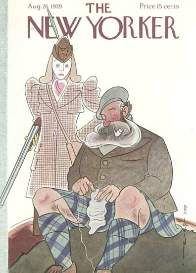 Rea Irvin The New Yorker 1939_08_26 Copyright | The New Yorker Graphic Art Covers 1925-1945