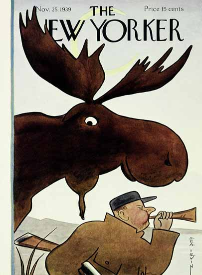 Rea Irvin The New Yorker 1939_11_25 Copyright | The New Yorker Graphic Art Covers 1925-1945