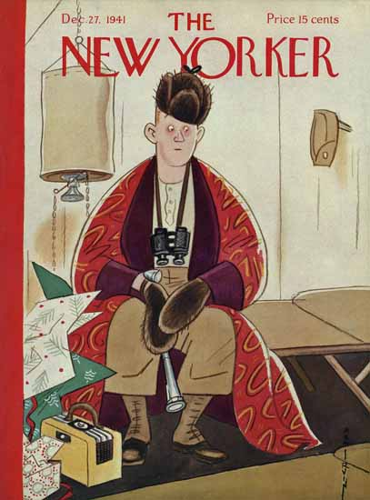 Rea Irvin The New Yorker 1941_12_27 Copyright   The New Yorker Graphic Art Covers 1925-1945