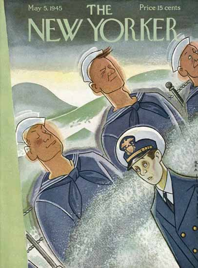 Rea Irvin The New Yorker 1945_05_05 Copyright   The New Yorker Graphic Art Covers 1925-1945