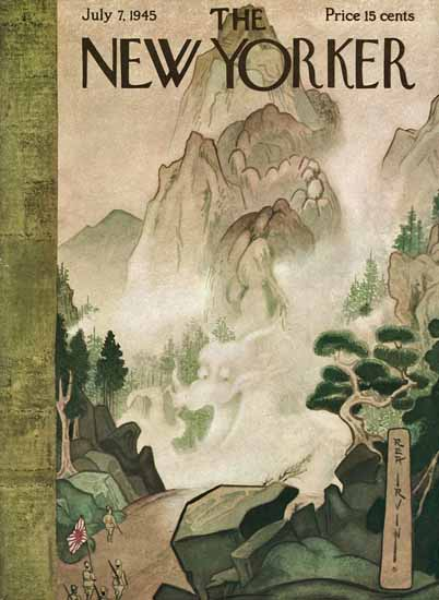 Rea Irvin The New Yorker 1945_07_07 Copyright   The New Yorker Graphic Art Covers 1925-1945