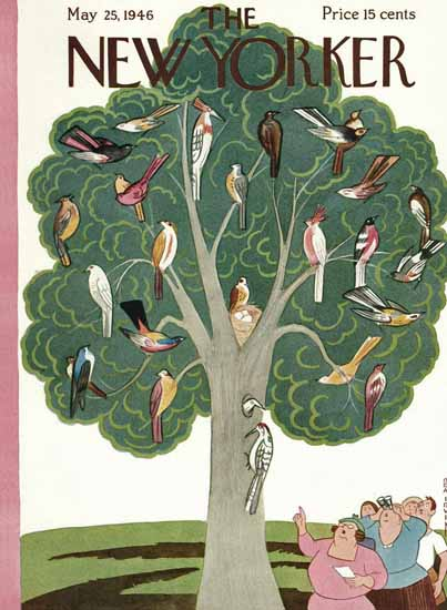 Rea Irvin The New Yorker 1946_05_25 Copyright | The New Yorker Graphic Art Covers 1946-1970
