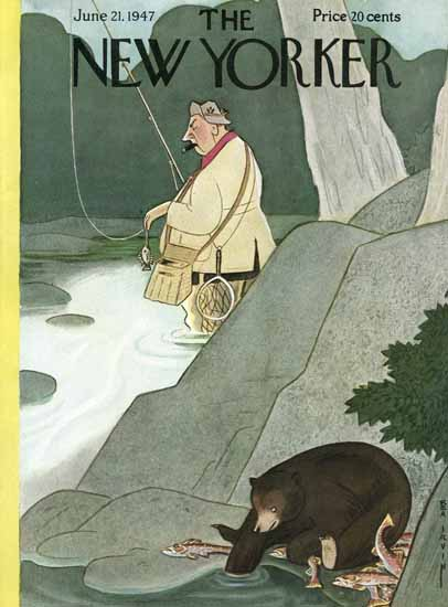 Rea Irvin The New Yorker 1947_06_21 Copyright | The New Yorker Graphic Art Covers 1946-1970