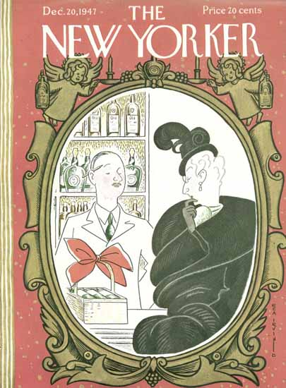 Rea Irvin The New Yorker 1947_12_20 Copyright | The New Yorker Graphic Art Covers 1946-1970