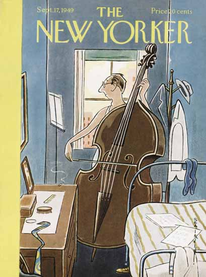 Rea Irvin The New Yorker 1949_09_17 Copyright | The New Yorker Graphic Art Covers 1946-1970