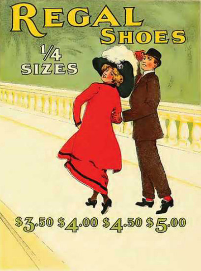 Regal Shoes 1910 | Sex Appeal Vintage Ads and Covers 1891-1970