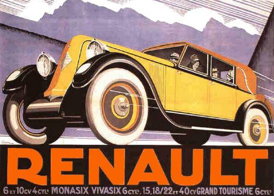 Renault 40 CV Grand Tourisme 6 Cylindres 1928 | Vintage Cars 1891-1970