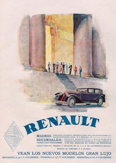 Renault Automobile Madrid | Vintage Cars 1891-1970
