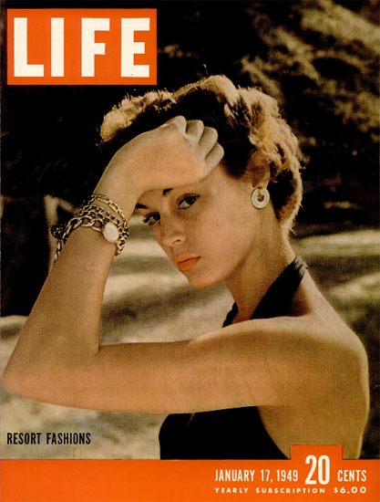 Resort Fashions 17 Jan 1949 Copyright Life Magazine | Life Magazine Color Photo Covers 1937-1970