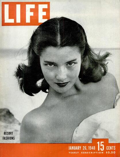 Resort Fashions 26 Jan 1948 Copyright Life Magazine | Life Magazine BW Photo Covers 1936-1970