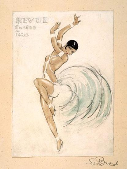 Revue Casino De Paris Dancer | Sex Appeal Vintage Ads and Covers 1891-1970