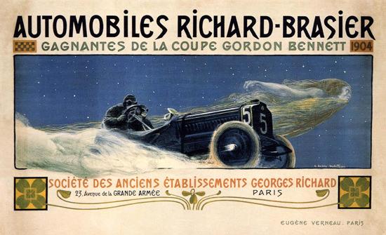 Richard-Brasier Automobiles Paris France 1904 | Vintage Cars 1891-1970