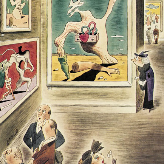 Richard Taylor The New Yorker 1937_01_09 Copyright crop | Best of 1930s Ad and Cover Art