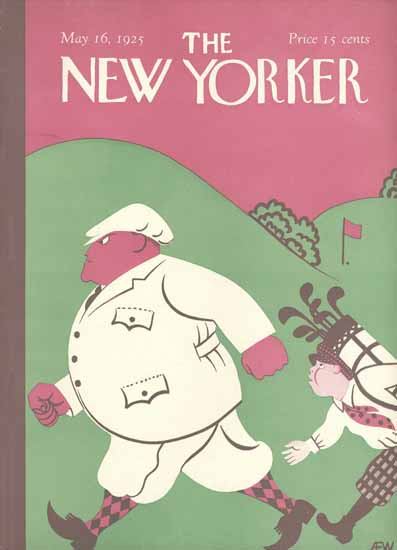 Roaring 1920s AE Wilson The New Yorker 1925_05_16 Copyright | Roaring 1920s Ad Art and Magazine Cover Art
