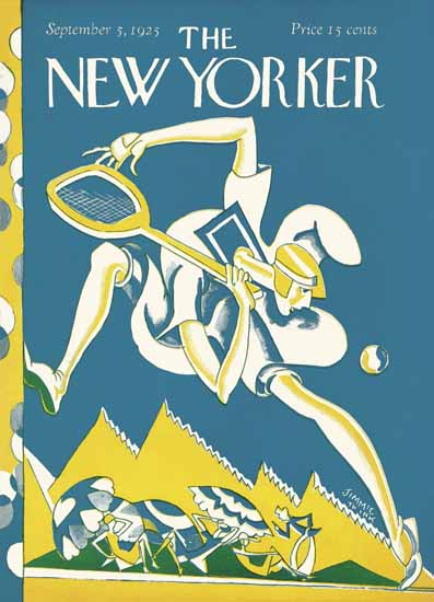 Roaring 1920s AE Wilson The New Yorker 1925_09_05 Copyright | Roaring 1920s Ad Art and Magazine Cover Art
