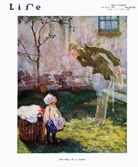 Roaring 1920s Angus MacDonall Life Magazine 1920-05-27 Copyright | Roaring 1920s Ad Art and Magazine Cover Art