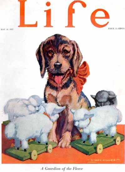 Roaring 1920s B Cory Kilvert Life Humor Magazine 1922-05-18 Copyright | Roaring 1920s Ad Art and Magazine Cover Art