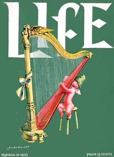 Roaring 1920s B Cory Kilvert Life Humor Magazine 1923-03-15 Copyright | Roaring 1920s Ad Art and Magazine Cover Art