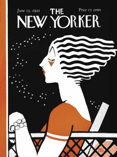 Roaring 1920s Barbara Shermund The New Yorker 1925_06_13 Copyright | Roaring 1920s Ad Art and Magazine Cover Art