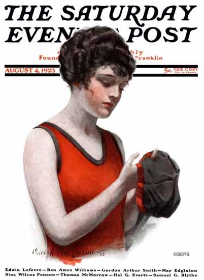Roaring 1920s Charles A MacLellan Saturday Evening Post 1923_08_04 | Roaring 1920s Ad Art and Magazine Cover Art