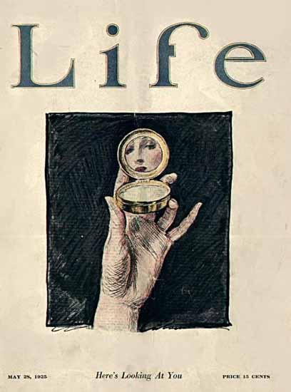 Roaring 1920s Charles Dana Gibson Life Magazine 1925-05-28 Copyright | Roaring 1920s Ad Art and Magazine Cover Art