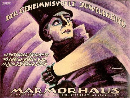 Roaring 1920s Der Geheimnissvolle Juwelendieb 1921 | Roaring 1920s Ad Art and Magazine Cover Art
