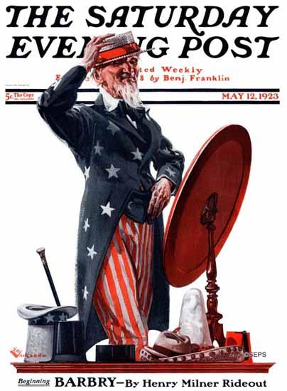Roaring 1920s EM Jackson Saturday Evening Post 1923_05_12 | Roaring 1920s Ad Art and Magazine Cover Art