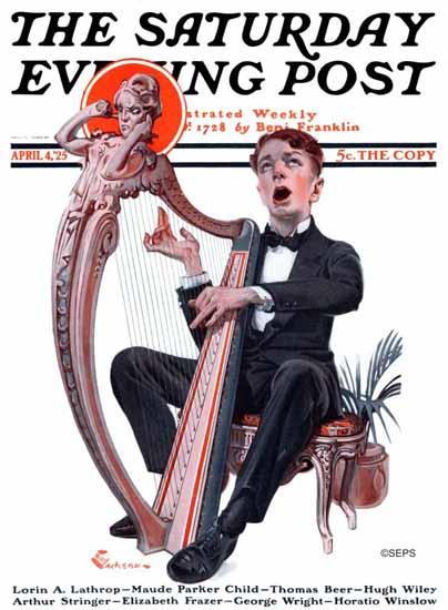Roaring 1920s EM Jackson Saturday Evening Post 1925_04_04 | Roaring 1920s Ad Art and Magazine Cover Art
