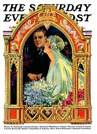 Roaring 1920s EM Jackson Saturday Evening Post 1929_06_22 | Roaring 1920s Ad Art and Magazine Cover Art