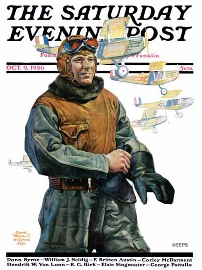 Roaring 1920s Edgar Franklin Wittmack Saturday Evening Post 1926_10_09 | Roaring 1920s Ad Art and Magazine Cover Art