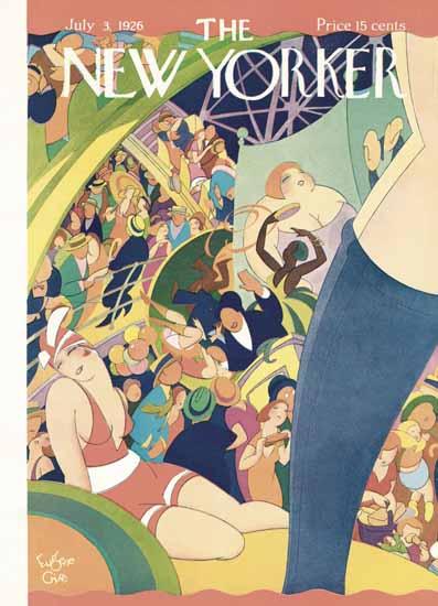 Roaring 1920s Eugene Gise The New Yorker 1926_07_03 Copyright | Roaring 1920s Ad Art and Magazine Cover Art
