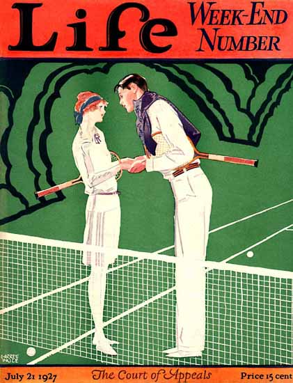Roaring 1920s Garrett Price Life Magazine Appeals 1927-07-21 Copyright | Roaring 1920s Ad Art and Magazine Cover Art