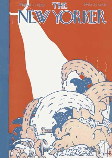 Roaring 1920s Garrett Price The New Yorker 1925_08_01 Copyright | Roaring 1920s Ad Art and Magazine Cover Art