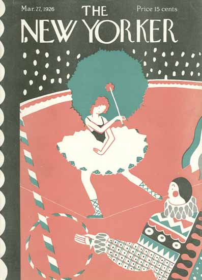 Roaring 1920s Ilonka Karasz The New Yorker 1926_03_27 Copyright | Roaring 1920s Ad Art and Magazine Cover Art