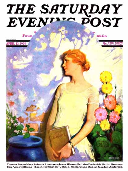 Roaring 1920s James C McKell Saturday Evening Post 1929_04_13 | Roaring 1920s Ad Art and Magazine Cover Art