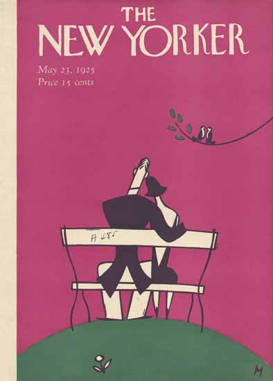 Roaring 1920s Julian De Miskey The New Yorker 1925_05_23 Copyright | Roaring 1920s Ad Art and Magazine Cover Art