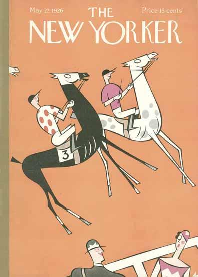 Roaring 1920s Julian De Miskey The New Yorker 1926_05_22 Copyright | Roaring 1920s Ad Art and Magazine Cover Art