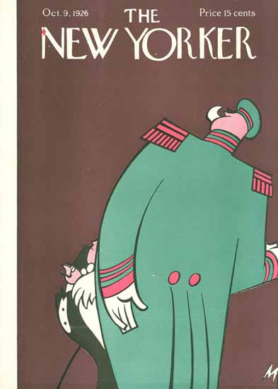 Roaring 1920s Julian De Miskey The New Yorker 1926_10_09 Copyright | Roaring 1920s Ad Art and Magazine Cover Art