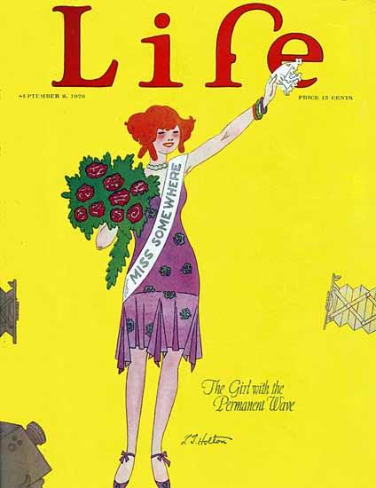Roaring 1920s LT Holton Life Humor Magazine 1926-09-09 Copyright | Roaring 1920s Ad Art and Magazine Cover Art