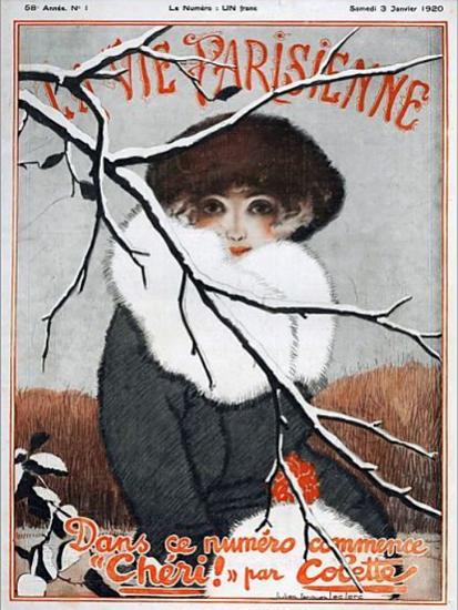 Roaring 1920s La Vie Parisienne 1920 Cheri Par Colette | Roaring 1920s Ad Art and Magazine Cover Art
