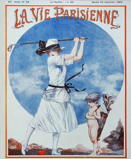 Roaring 1920s La Vie Parisienne 1922 Septembre 23 | Roaring 1920s Ad Art and Magazine Cover Art