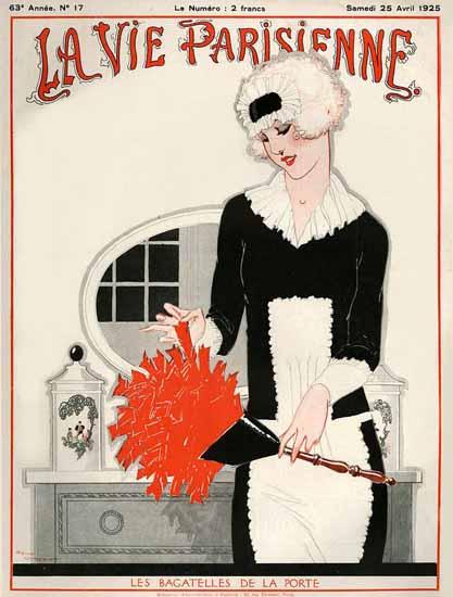Roaring 1920s La Vie Parisienne 1925 Les Bagatelles De La Porte | Roaring 1920s Ad Art and Magazine Cover Art