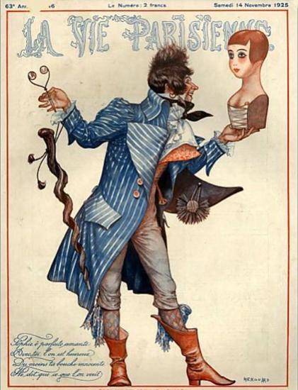 Roaring 1920s La Vie Parisienne 1925 Novembre 14 | Roaring 1920s Ad Art and Magazine Cover Art