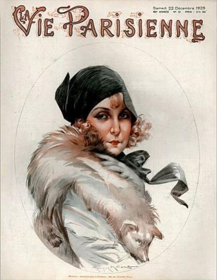 Roaring 1920s La Vie Parisienne 1928 Decembre 22 | Roaring 1920s Ad Art and Magazine Cover Art