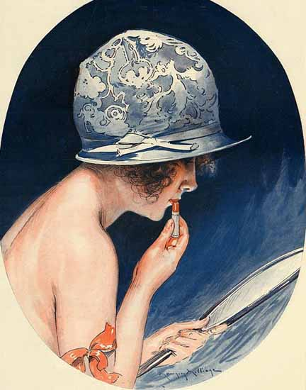 Roaring 1920s Maurice Milliere La Vie Parisienne 1925 Meilleur Ami page | Roaring 1920s Ad Art and Magazine Cover Art